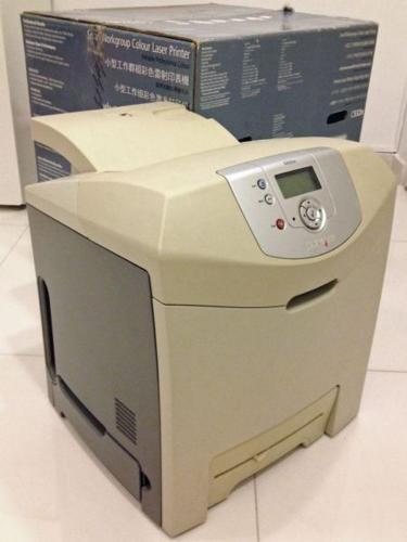 SALE: Colour Laser Printer, Lexmark C532n & NEW Toner