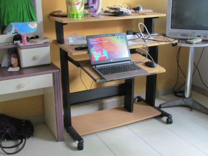 *** Computer Table, Desktop Speakers & Caroms Board ***