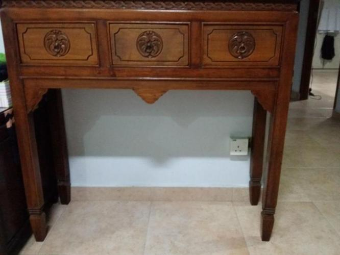 console table...seldom used
