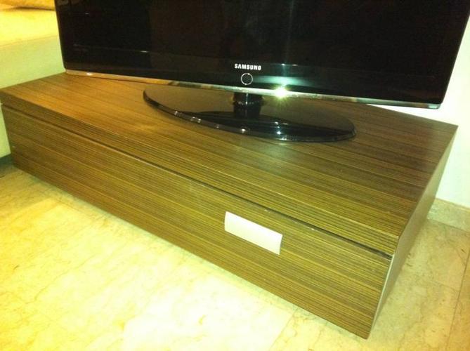 Contemporary Wooden TV Console