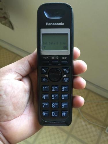 Cordless panasonic phone for landline
