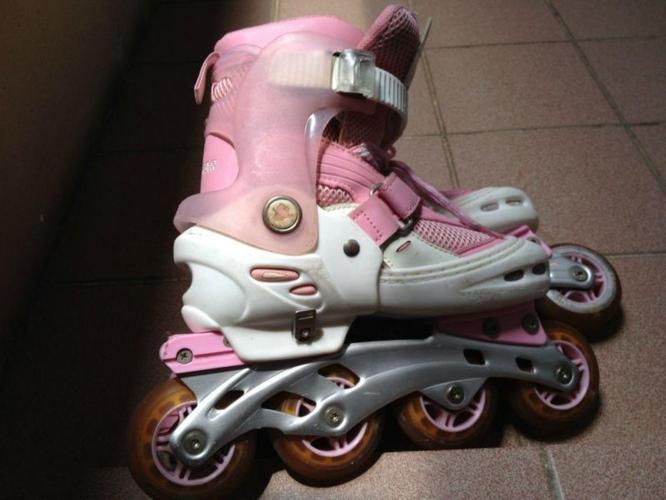 3297d84eaaa ... Northeast Singapore for sale. Cougar Adjustable Girls Roller Blades  Inline Skates