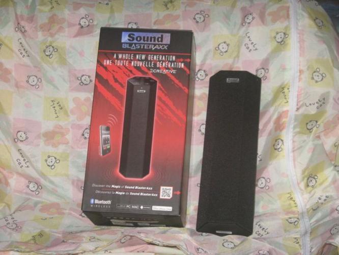 Creative Speaker SBX10, with sound Blaster Processor