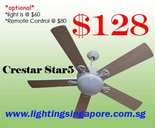 Crestar Star5 Ceiling Fan
