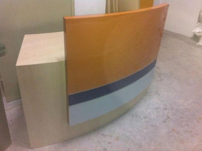 Custom made receptionist Table @ $120 only