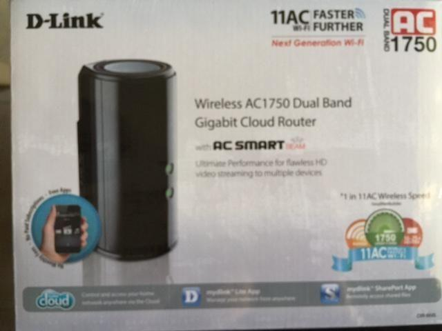 D-Link Wireless AC1750 Dual-Band Gigabit Cloud Router