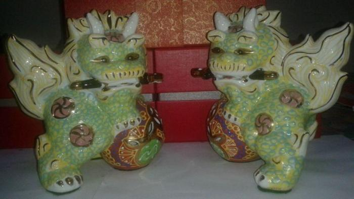 Dancing Lions Good Luck Feng Shui
