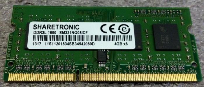 DDR3L 12800S/1600MHz 1.35V Memory RAM
