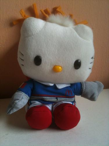 Decluttering Home Items - McDonald's Hello Kitty Plush