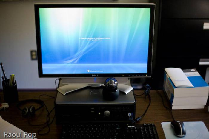 Dell Optiplex 745 sff with 21' LCD