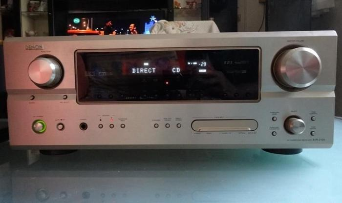DENON 7.1 AV SURROUND RECEIVER / AMPLIFIER AVR-2105