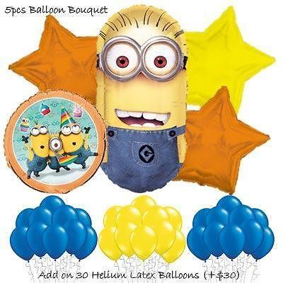 Despicable Me Minions Balloon Bouquet by Party