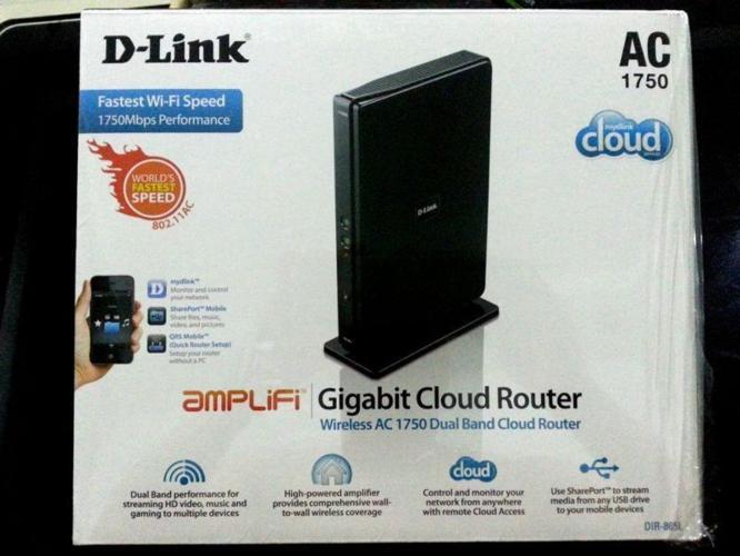 DIR 865L D-Link AC 1750 Dual-Band Gigabit Cloud Router