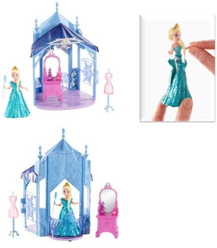 BNIB: Disney Frozen MagiClip Flip 'N Switch Castle and