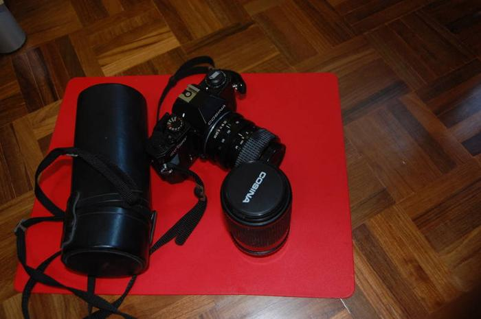 Disposing old SLR Cosina 52mm CT1 super Camera with