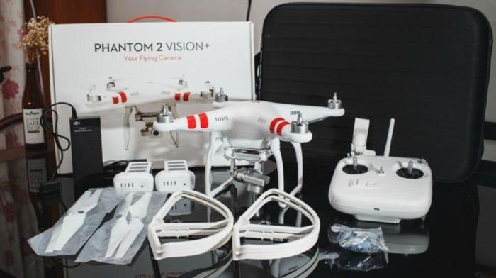 DJI Phantom Vision 2+ drone