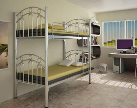 Double deck bed - big frame