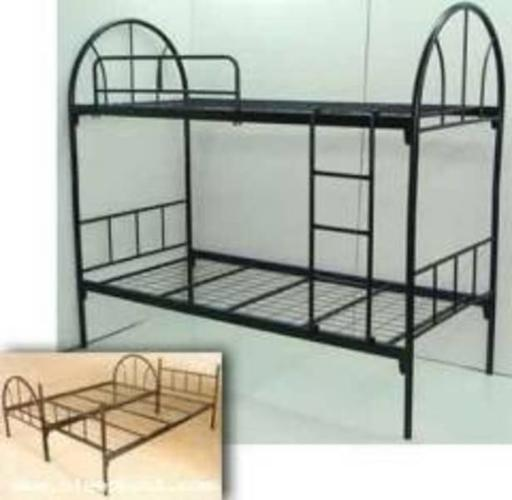 Twin over double bunk bed - Double decker bed ...
