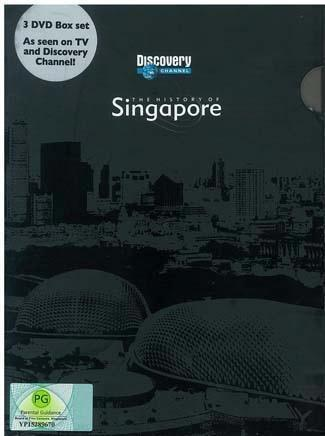 DVD Box - The History of Singapore