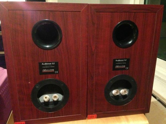 Dynaudio 52 Cherry Wood Speakers