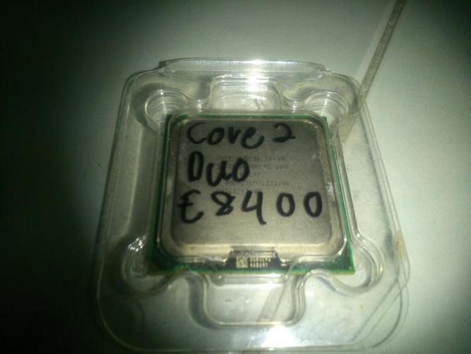 E8400 CORE 2 DUO