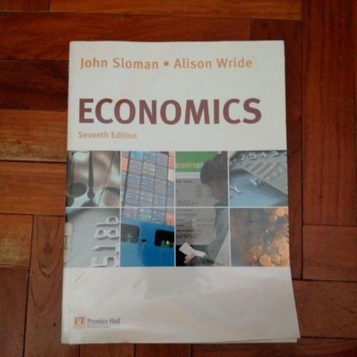 Economics John Sloman Alison Wride 7th Edition