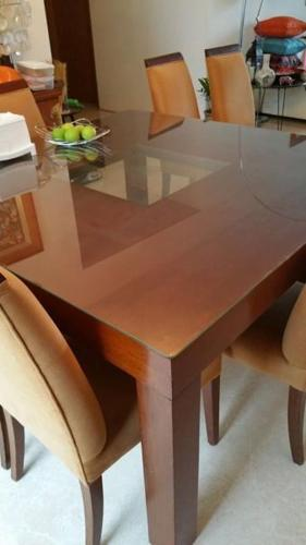 Elegant 8-seater Square Dining Table