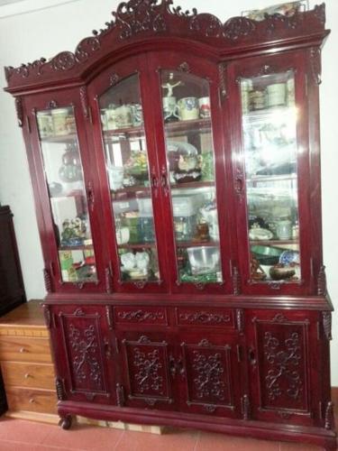 Elegant antique cabinet