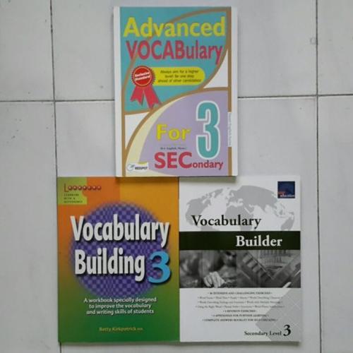 English Vocabulary textbooks (very cheap)