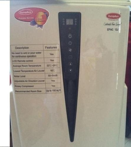 EuropAce EPAC 12J Portable Airconditioner, 12,000