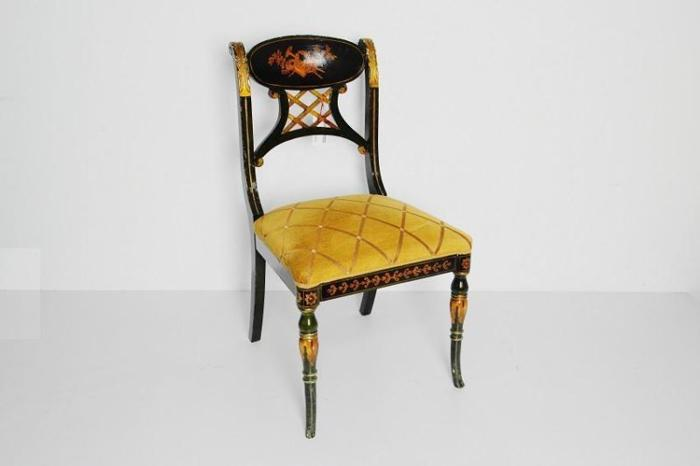 European Design Fabric Upholstered Seat Chair
