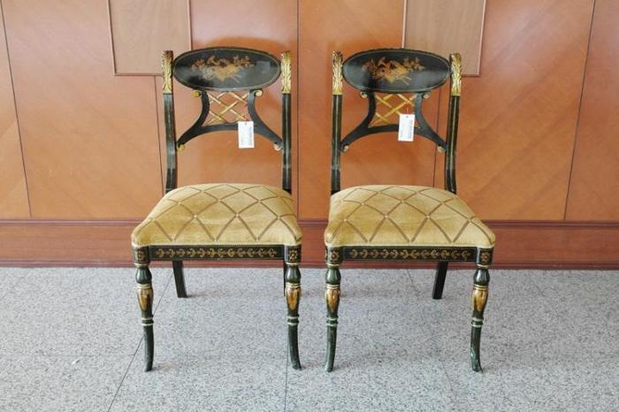 European Style Upholstered Seat Chair, @280 each