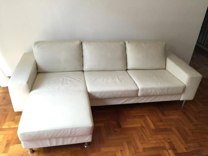 Exklucive Danish Design Leather Sofa Boconcept For Sale In East