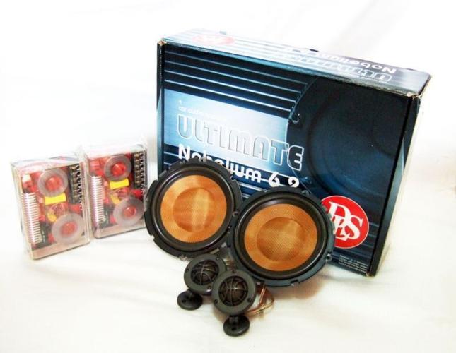 ~ExquiSiTe MinT SeT DLS NoBeLium 6.2 Car Audio SpeaKer