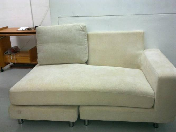 Fabric sofa good condition @ $60 to clear space,sms to