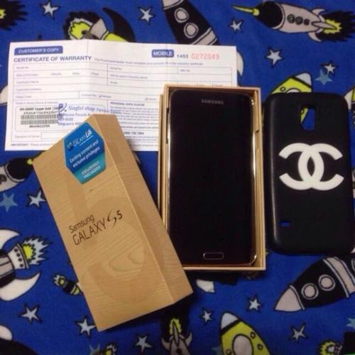 Fast deal today!! $420!! S5 Copper Gold 16gb