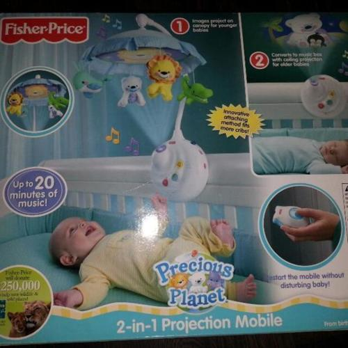 fisher price projector mobile