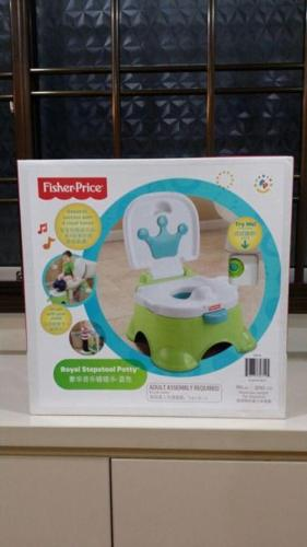 Fisher Price Royal Stepstool Potty
