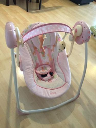 Foldable Comfort Harmony Automatic Baby Swing by Bright
