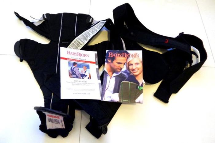 For Sale: BABYBJORN Baby Carrier Active with Back