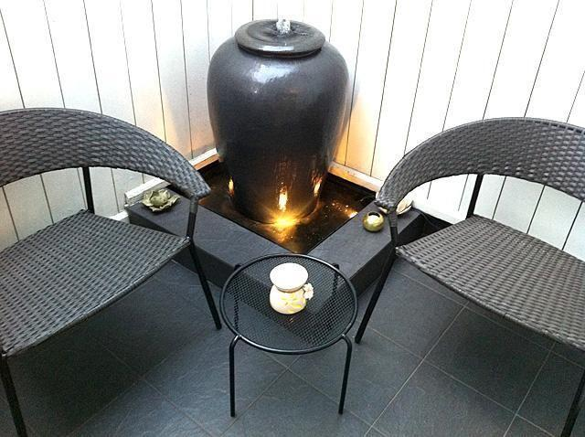 Free Delivery - Water Feature (Includes Pot + 3 Water