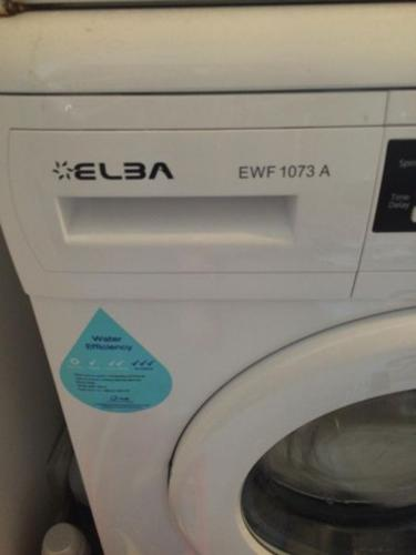 FRONT LOADER WASHING MACHINE - ELBA MODEL #EWF1073A