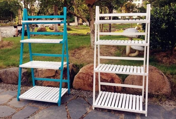 FSV003★4-level garden style flower shelf/ storage