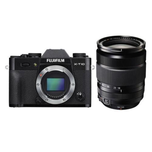 Fujifilm X-T10 Camera (Black or Silver) + Fujinon XF