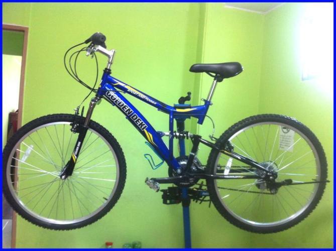 FULL SUSPENSION (Blue+Black) Rider Height 155-175cm
