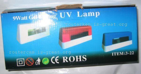 Gel Curing UV Lamp . Nail Polish Dryer
