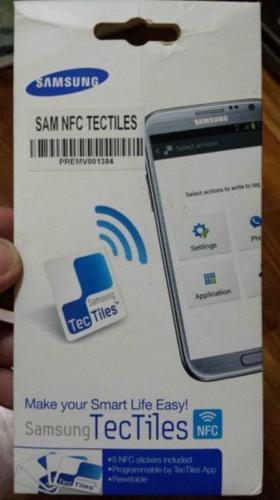 Genuine Samsung NFC TecTiles for sale