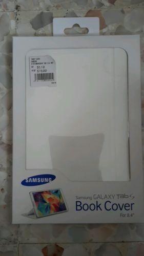 Genunie Samsung Galaxy Tab S Book Cover(8.4 inch)White