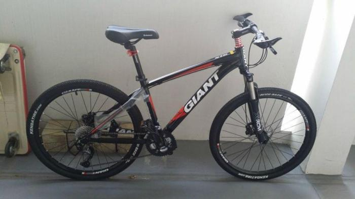 Giant XTC 2011 MTB bicycle for sale with hydraulic disc