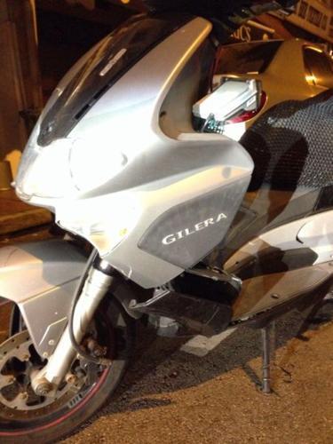 Gilera vxr200 cheap sale left 2years